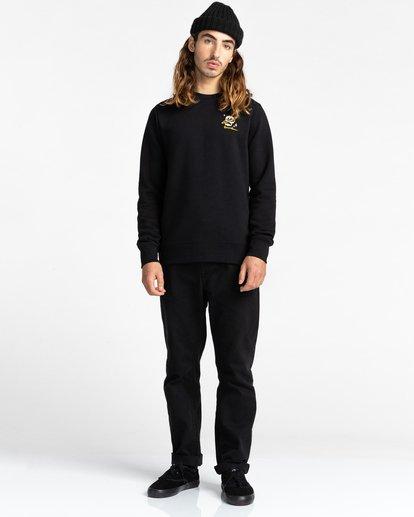 3 Transender - Sweatshirt for Men Black Z1CRC6ELF1 Element