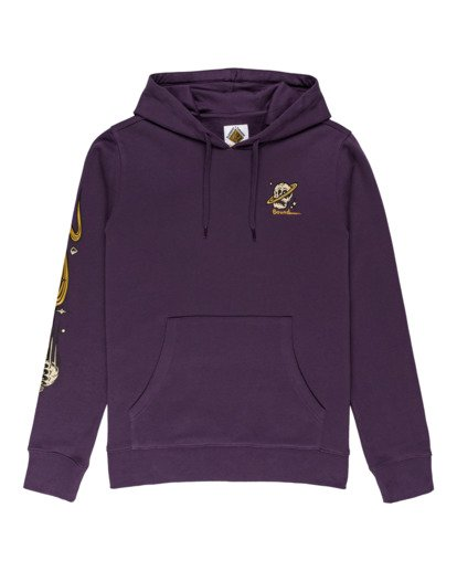 0 Transender - Hoodie for Men Purple Z1HOD1ELF1 Element