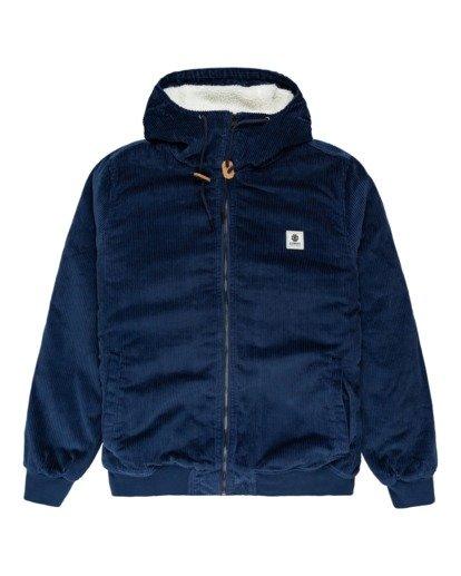 0 Dulcey Corduroy - Water-Resistant Jacket for Men Blue Z1JKE1ELF1 Element
