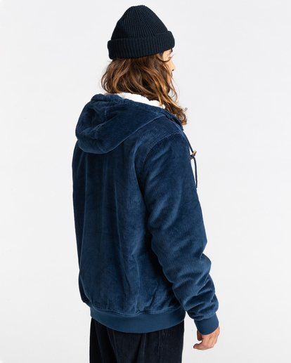 3 Dulcey Corduroy - Water-Resistant Jacket for Men Blue Z1JKE1ELF1 Element