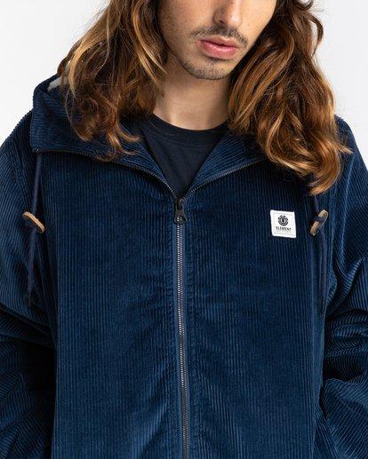 4 Dulcey Corduroy - Water-Resistant Jacket for Men Blue Z1JKE1ELF1 Element