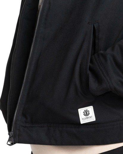5 Craftman - Water-Resistant Jacket for Men Black Z1JKE3ELF1 Element