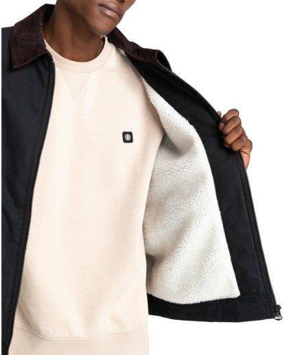 6 Craftman - Water-Resistant Jacket for Men Black Z1JKE3ELF1 Element