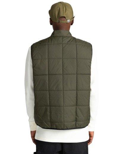 10 Wolfe - Reversible Body Warmer for Men Green Z1JKF4ELF1 Element