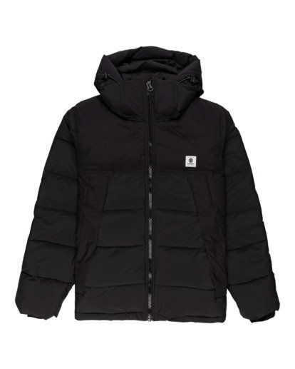 0 Dulcey - Water-Resistant Jacket for Men Black Z1JKF7ELF1 Element