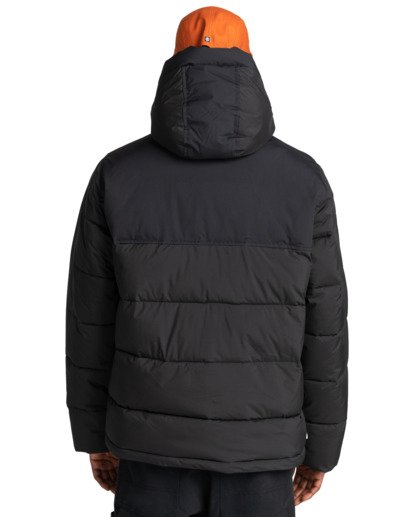 7 Dulcey - Water-Resistant Jacket for Men Black Z1JKF7ELF1 Element