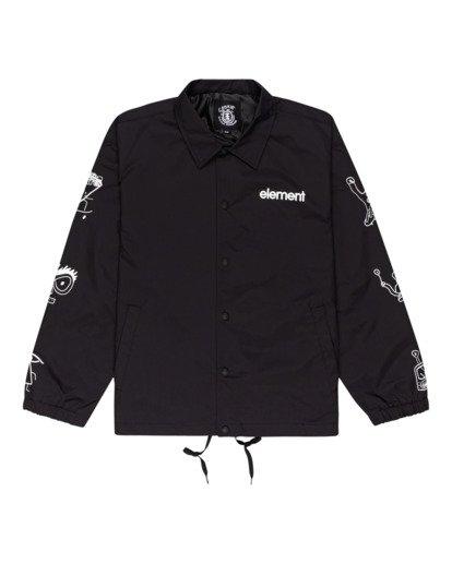 0 Galaxy - Water-Resistant Jacket for Unisex Black Z1JKG4ELF1 Element