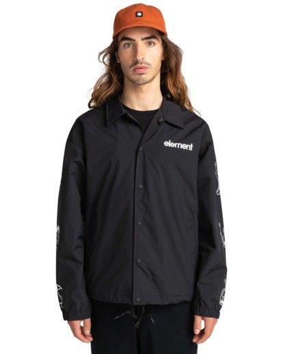 1 Galaxy - Water-Resistant Jacket for Unisex Black Z1JKG4ELF1 Element