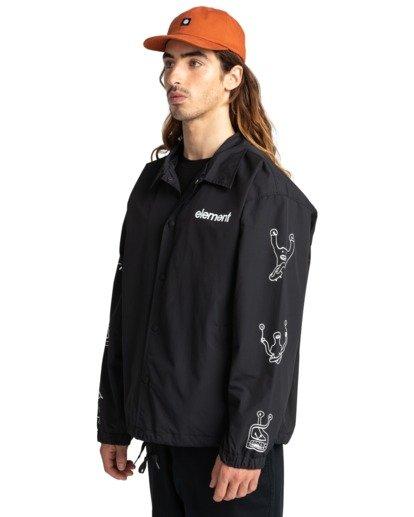 2 Galaxy - Water-Resistant Jacket for Unisex Black Z1JKG4ELF1 Element
