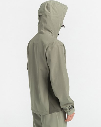10 RCA - Polartec® Waterproof Jacket for Unisex Green Z1JKG8ELF1 Element