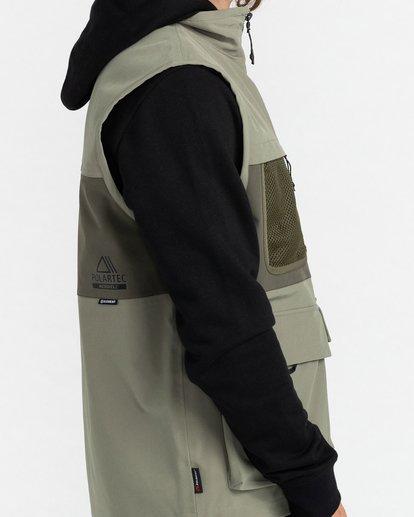 3 Mini Jack - Veste imperméable Polartec® sans manches pour Unisexe Vert Z1JKG9ELF1 Element