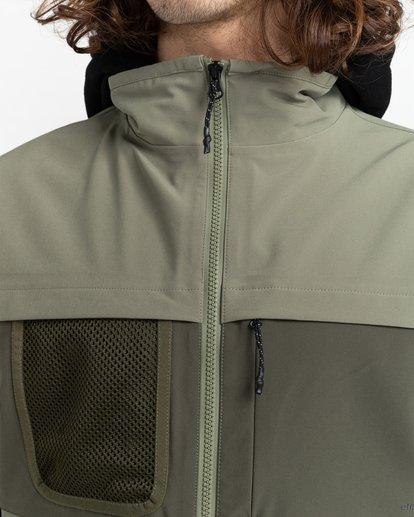 4 Mini Jack - Veste imperméable Polartec® sans manches pour Unisexe Vert Z1JKG9ELF1 Element