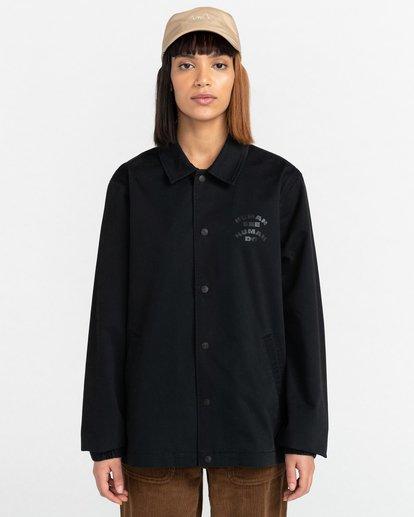 2 Pota Wasteland - Water-Resistant Jacket for Unisex Black Z1JKH2ELF1 Element