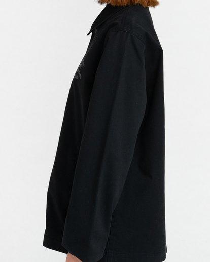 3 Pota Wasteland - Water-Resistant Jacket for Unisex Black Z1JKH2ELF1 Element