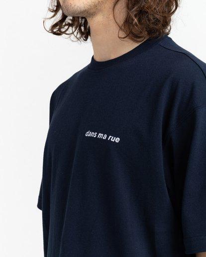 4 Dans Ma Rue - T-shirt pour Unisexe Bleu Z1KTC5ELF1 Element