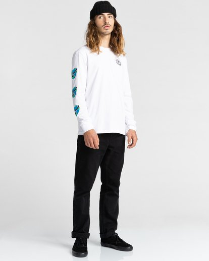 5 Ravana - Camiseta de Manga Larga para Hombre Blanco Z1LSD7ELF1 Element