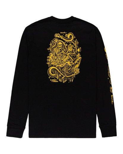 1 Acceptance - T-shirt manches longues pour Homme Noir Z1LSE3ELF1 Element