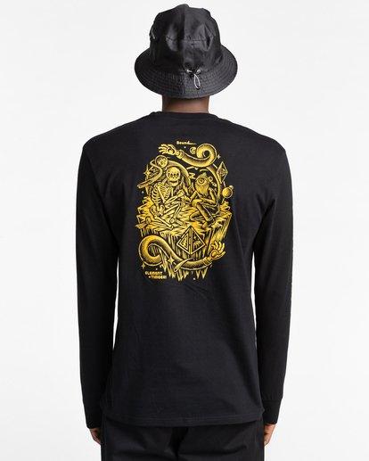 5 Acceptance - T-shirt manches longues pour Homme Noir Z1LSE3ELF1 Element