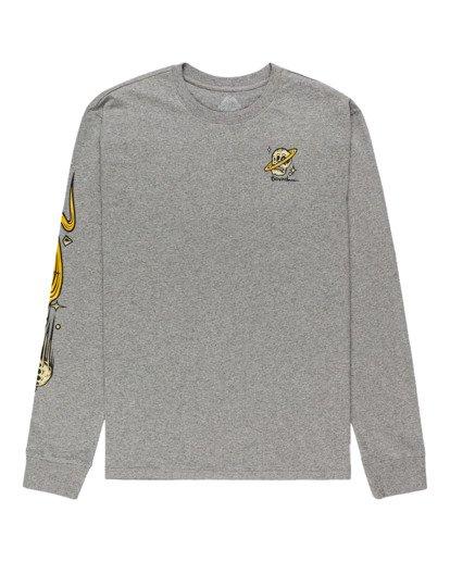 0 Transender - T-shirt manches longues pour Homme Gris Z1LSE4ELF1 Element