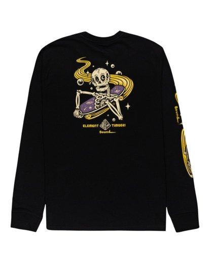 1 Transender - T-shirt manches longues pour Homme Noir Z1LSE4ELF1 Element