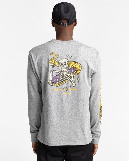 5 Transender - T-shirt manches longues pour Homme Gris Z1LSE4ELF1 Element