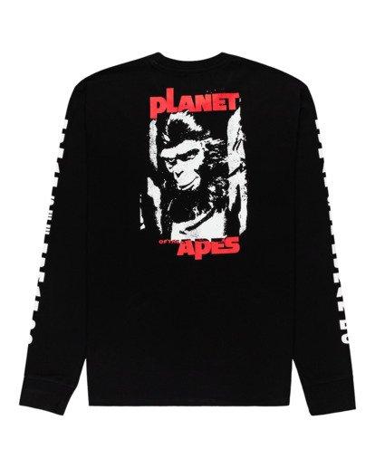 1 Pota Surge - Long Sleeve T-Shirt for Unisex Black Z1LSE9ELF1 Element