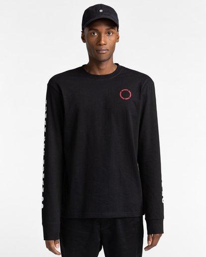 2 Pota Surge - Long Sleeve T-Shirt for Unisex Black Z1LSE9ELF1 Element
