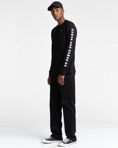 4 Pota Surge - Long Sleeve T-Shirt for Unisex Black Z1LSE9ELF1 Element