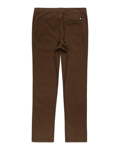 1 Howland Classic - Pantalon chino pour Homme Marron Z1PTC5ELF1 Element
