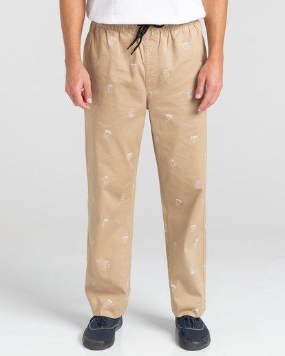 2 Chillin Galaxy - Pantalon pour Unisexe Gris Z1PTD6ELF1 Element