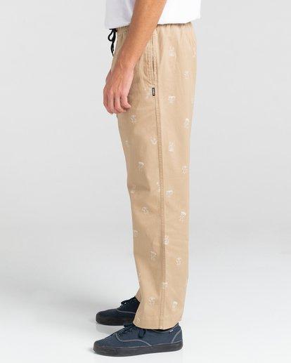 3 Chillin Galaxy - Pantalon pour Unisexe Gris Z1PTD6ELF1 Element