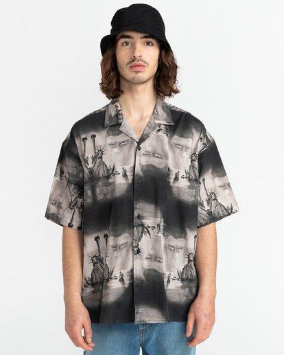 1 Pota Paradise - Short Sleeve Shirt for Unisex Black Z1SHD7ELF1 Element