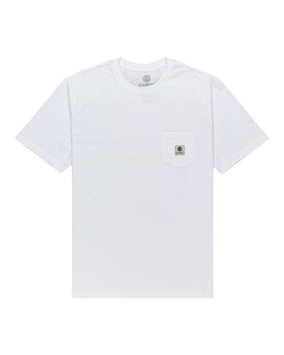 0 Basic Label - T-shirt pour Unisexe Blanc Z1SSI1ELF1 Element