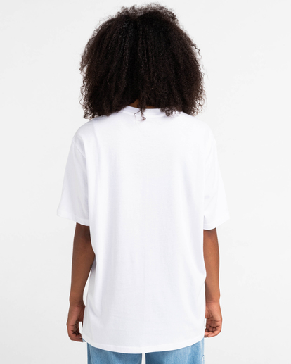 5 Basic Label - T-shirt pour Unisexe Blanc Z1SSI1ELF1 Element