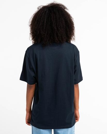 5 Basic Label - T-shirt pour Unisexe Bleu Z1SSI1ELF1 Element