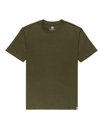 0 Crew - Camiseta para Unisex Verde Z1SSI2ELF1 Element