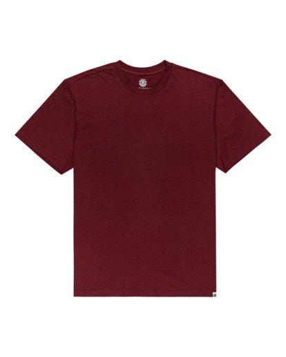 0 Crew - T-shirt pour Unisexe Rouge Z1SSI2ELF1 Element
