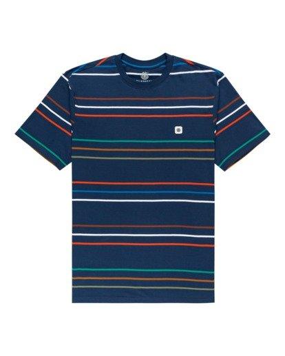 0 Hovden - T-shirt pour Unisexe Bleu Z1SSI3ELF1 Element