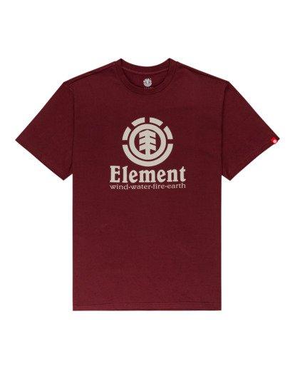 0 Vertical - Camiseta para Hombre Rojo Z1SSI4ELF1 Element