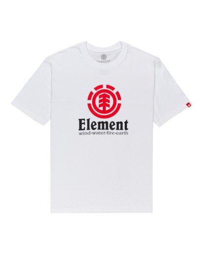 0 Vertical - Camiseta para Hombre Blanco Z1SSI4ELF1 Element
