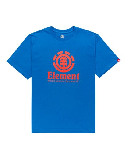0 Vertical - T-Shirt for Men Blue Z1SSI4ELF1 Element