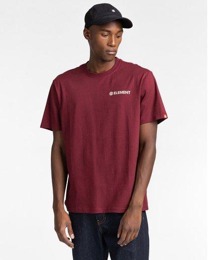 1 Blazin Chest - T-shirt pour Homme Rouge Z1SSI6ELF1 Element
