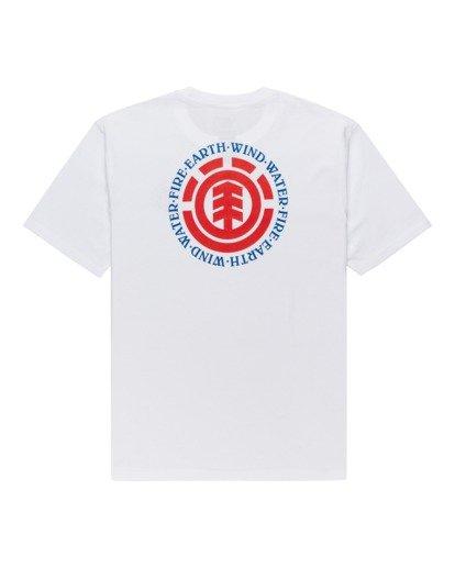 1 Seal - T-Shirt for Men White Z1SSI8ELF1 Element