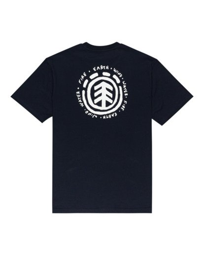 1 Casco - T-shirt pour Homme Bleu Z1SSJ2ELF1 Element