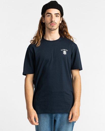 2 Casco - T-shirt pour Homme Bleu Z1SSJ2ELF1 Element