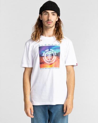 1 Dusky - T-Shirt for Men White Z1SSJ7ELF1 Element
