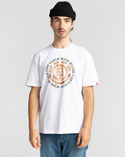 2 Idylild - T-shirt pour Homme Blanc Z1SSK3ELF1 Element