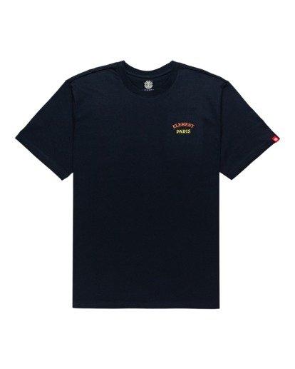 0 Topo Four - T-Shirt for Men Blue Z1SSK5ELF1 Element
