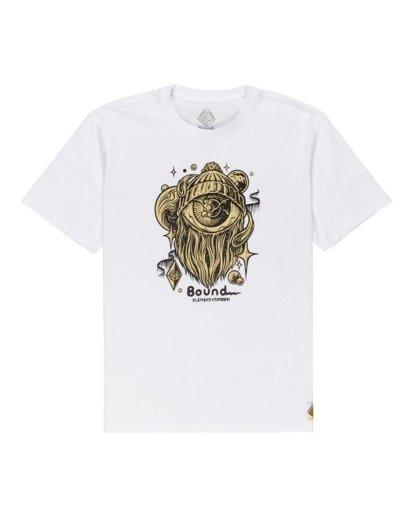 0 A World Apart - T-shirt pour Homme Blanc Z1SSO7ELF1 Element