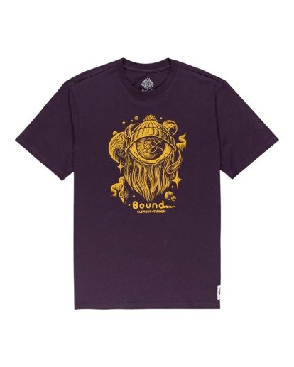 0 A World Apart - T-Shirt for Men Purple Z1SSO7ELF1 Element